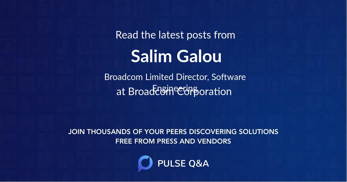 Salim Galou