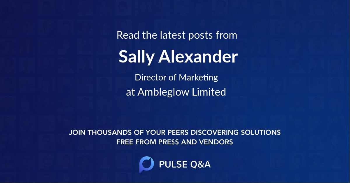 Sally Alexander