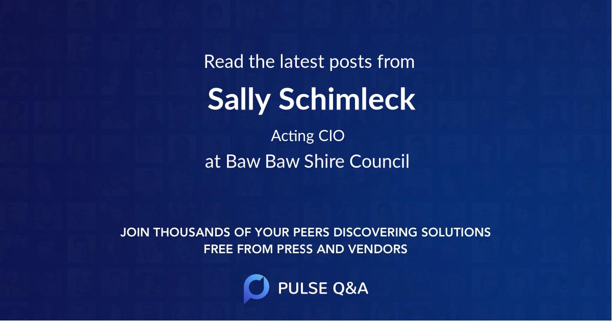 Sally Schimleck