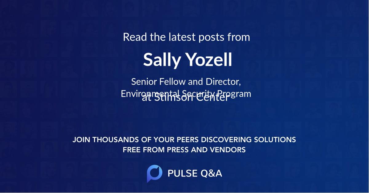 Sally Yozell