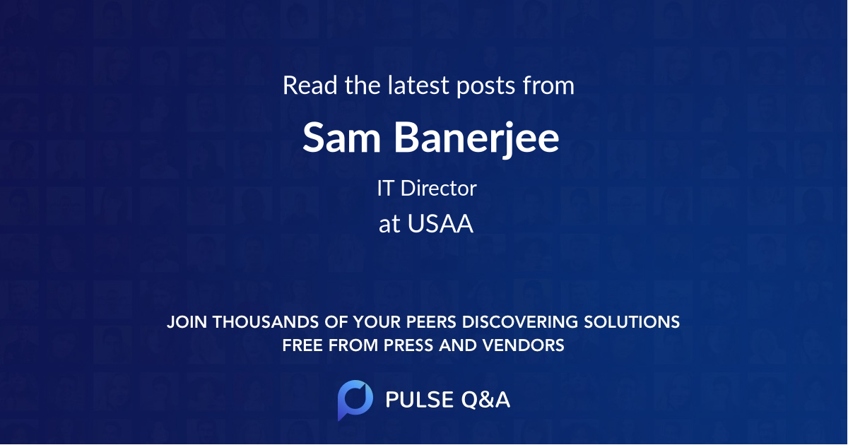 Sam Banerjee