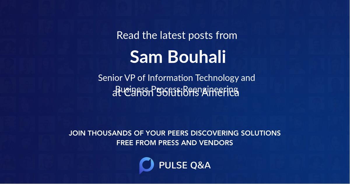 Sam Bouhali