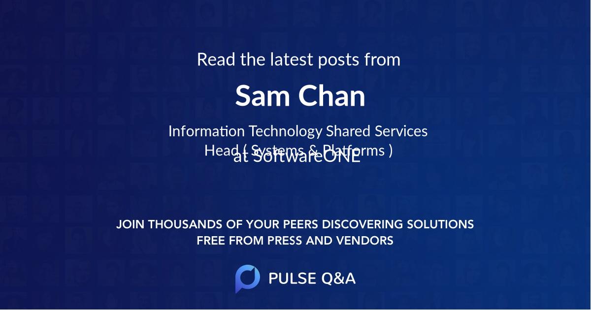 Sam Chan