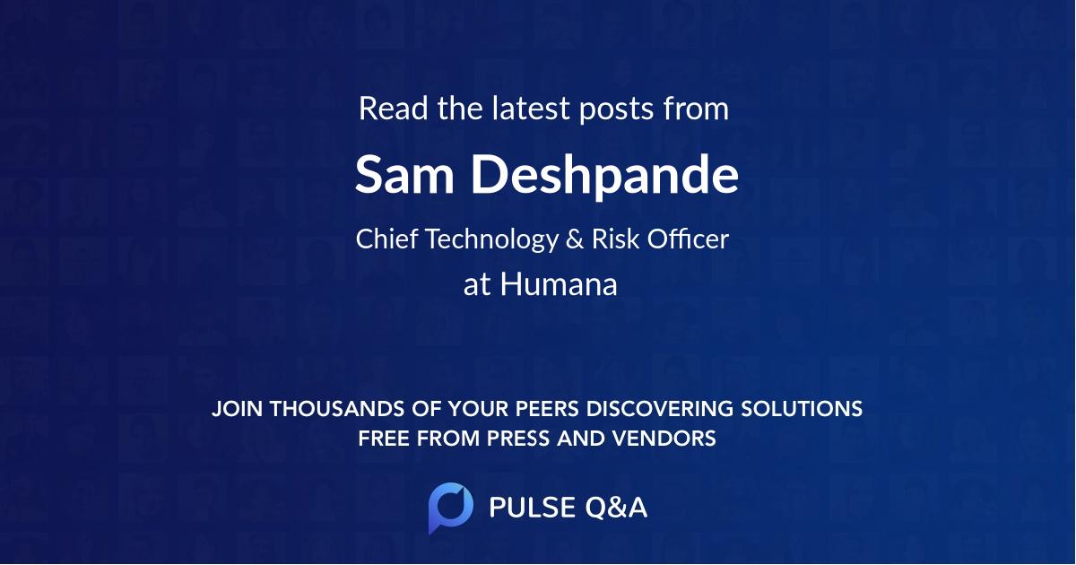 Sam Deshpande