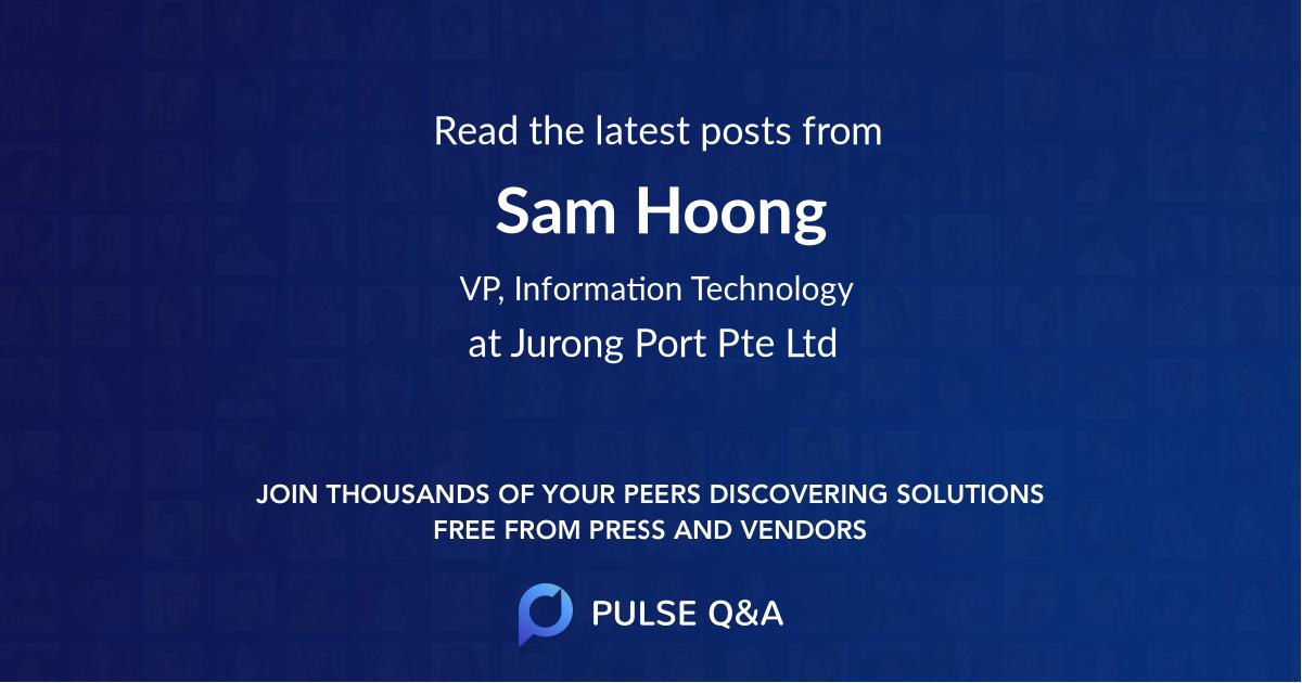 Sam Hoong