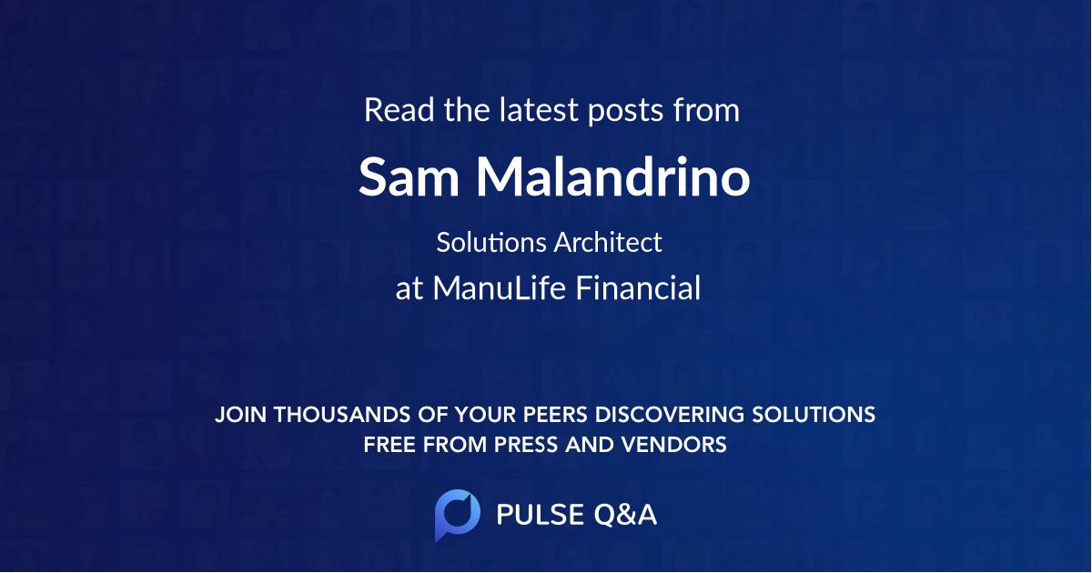 Sam Malandrino