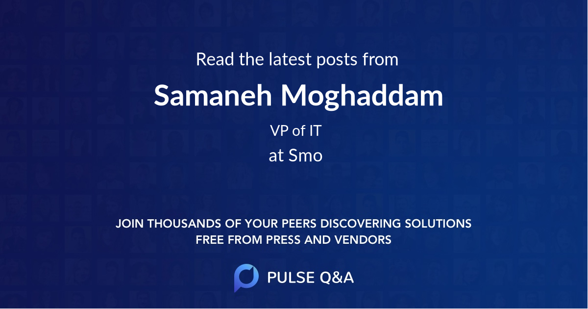 Samaneh Moghaddam