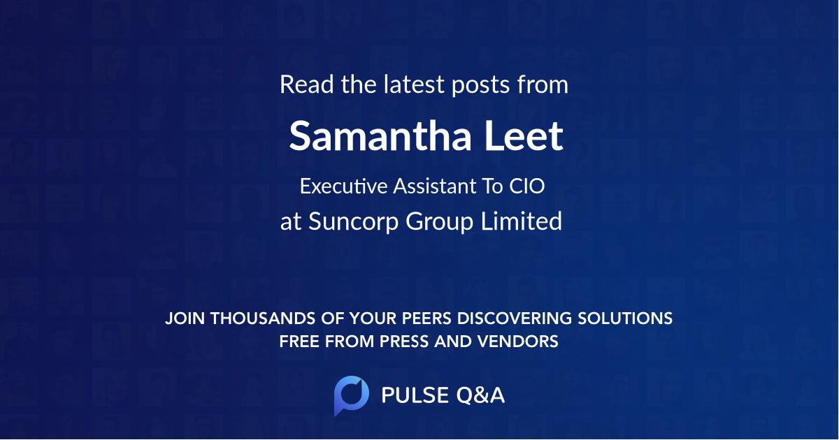 Samantha Leet