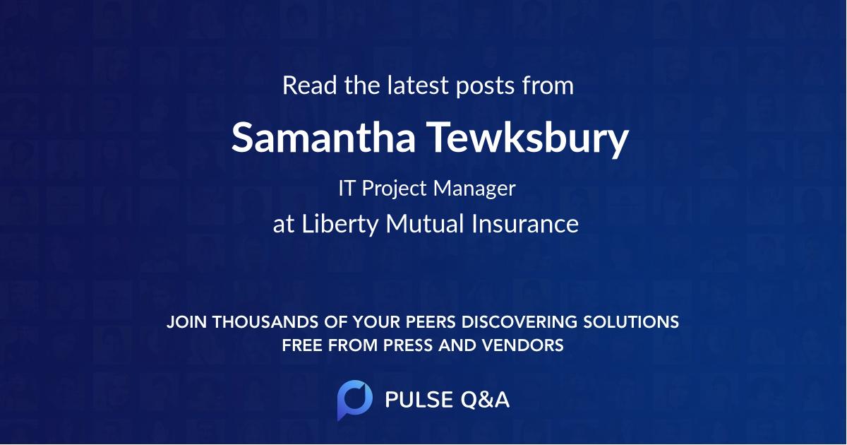 Samantha Tewksbury