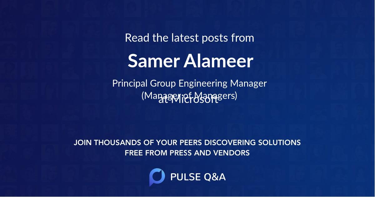 Samer Alameer