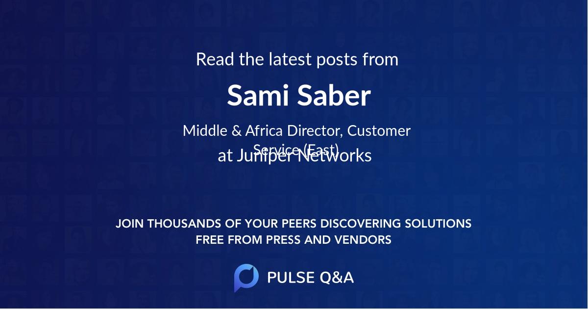 Sami Saber