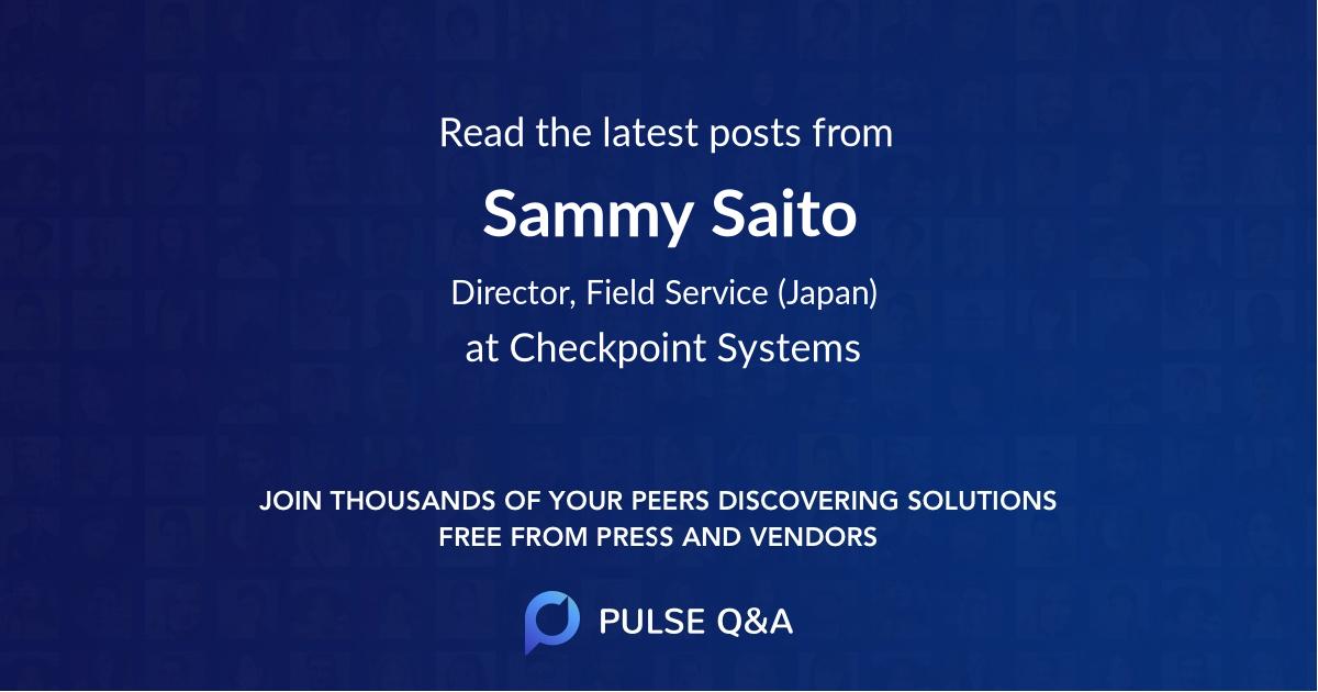 Sammy Saito