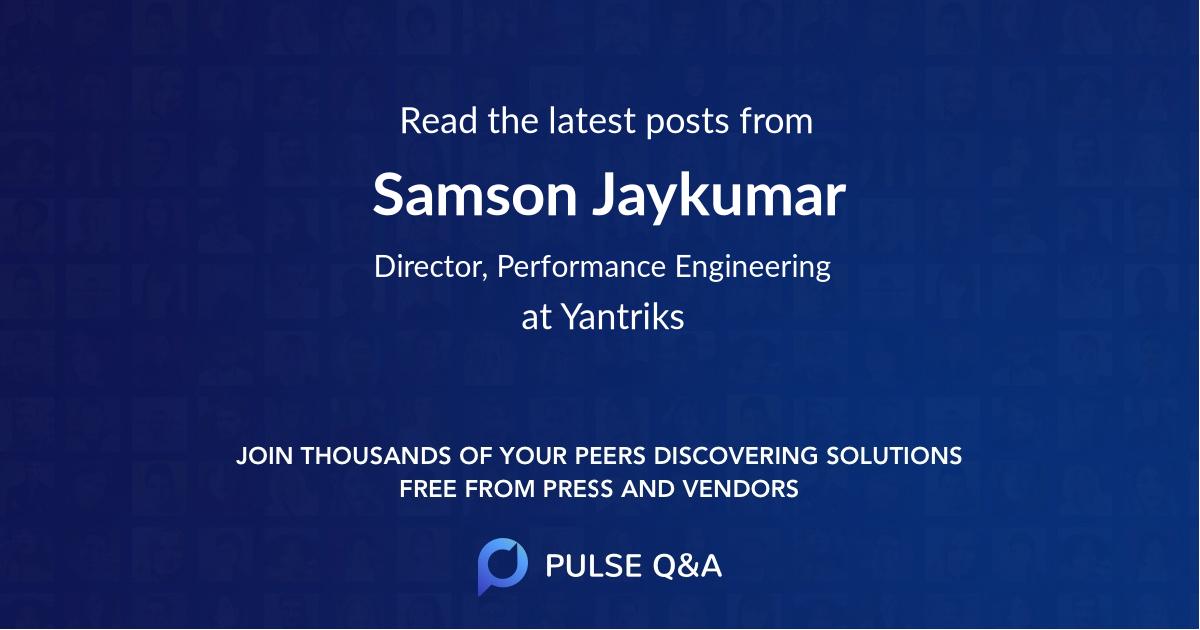Samson Jaykumar