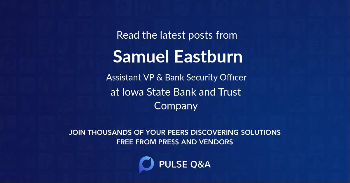 Samuel Eastburn