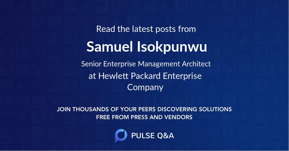 Samuel Isokpunwu