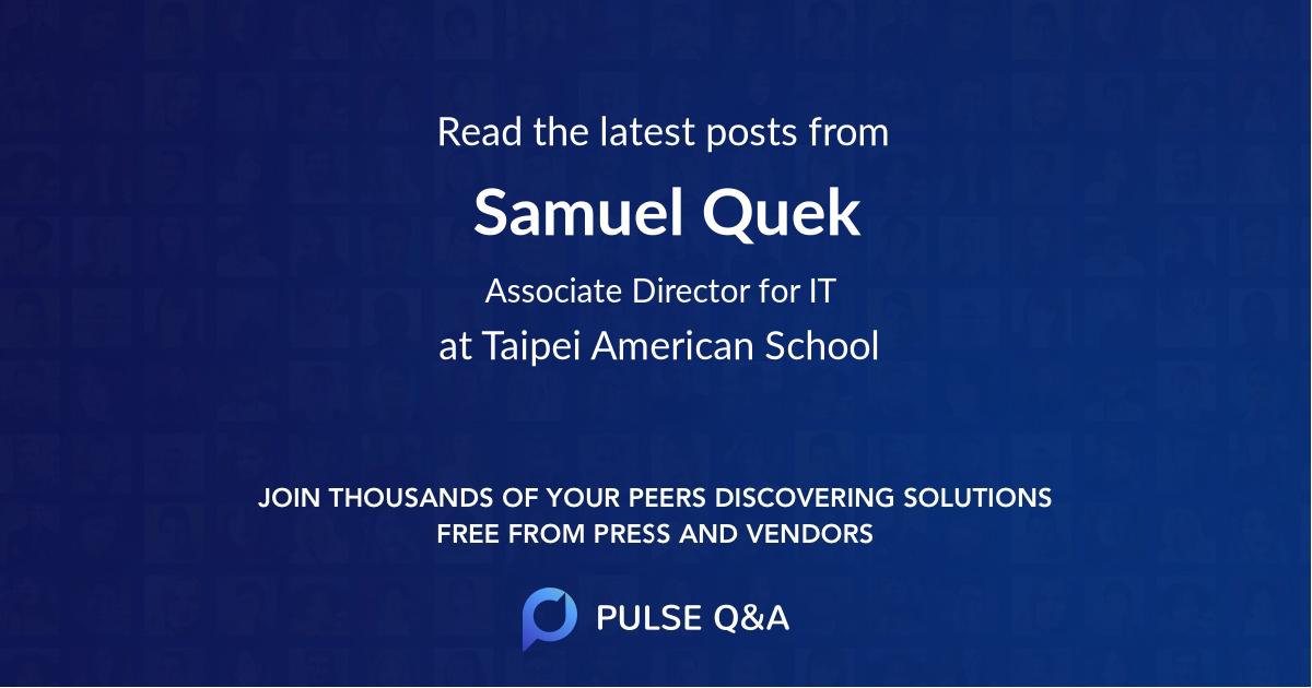 Samuel Quek