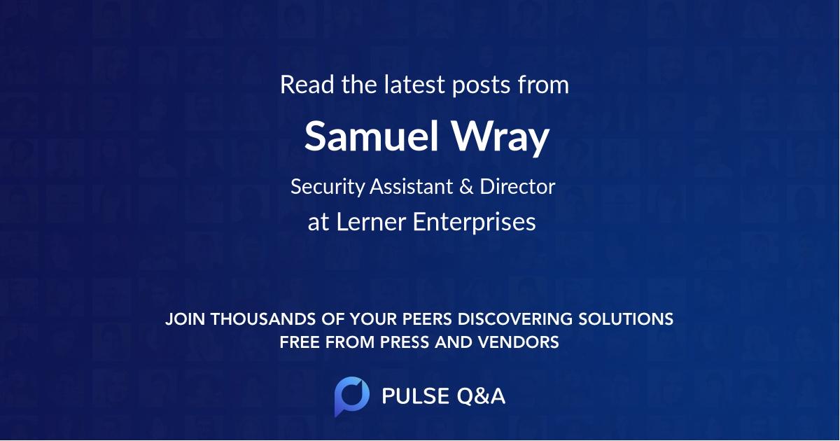 Samuel Wray