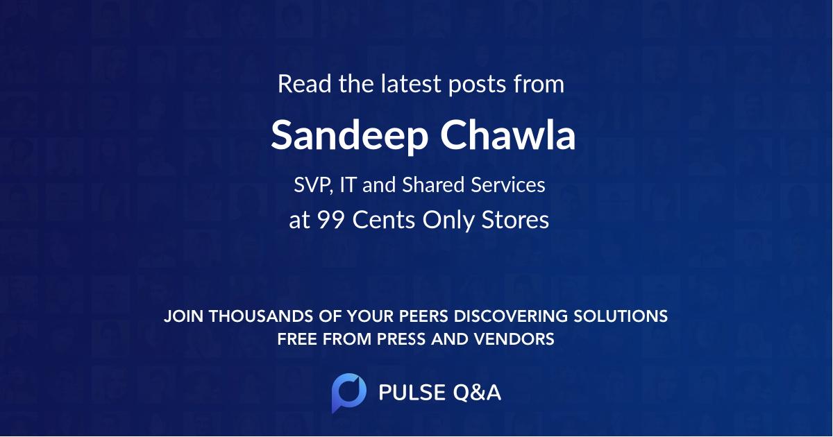 Sandeep Chawla