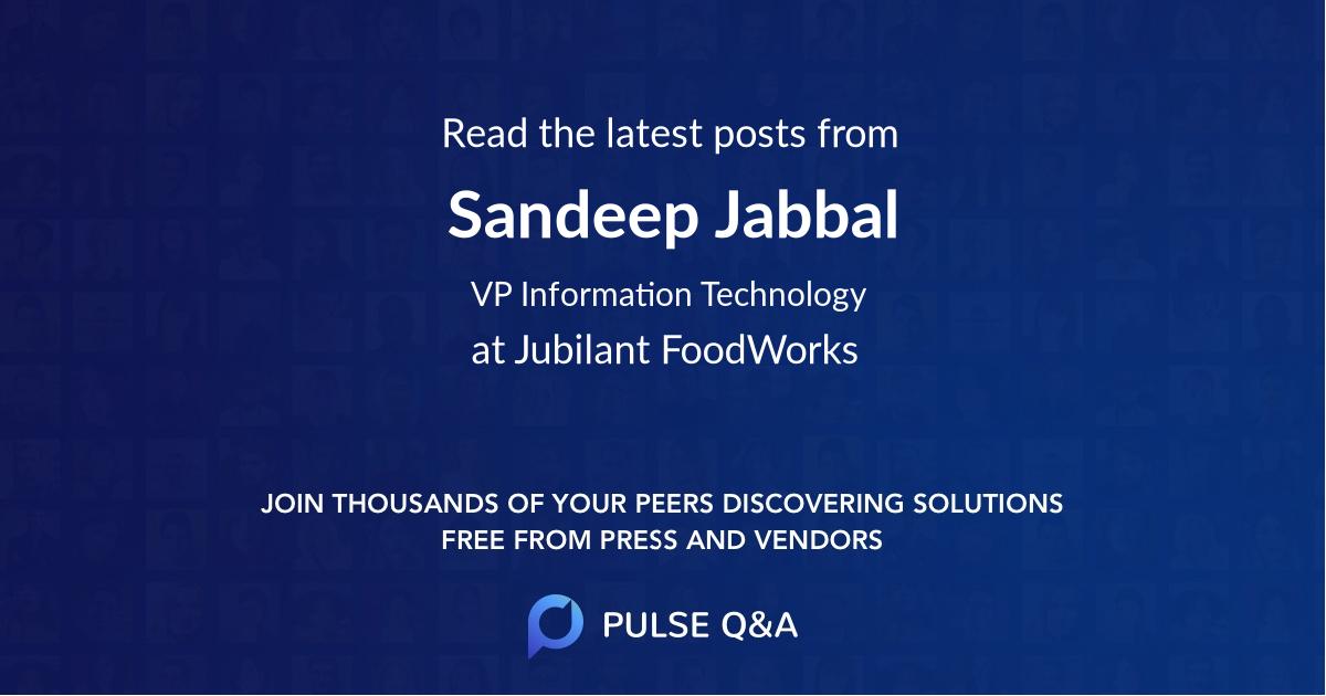 Sandeep Jabbal