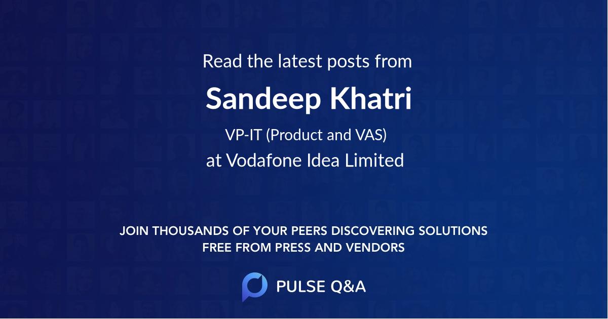 Sandeep Khatri