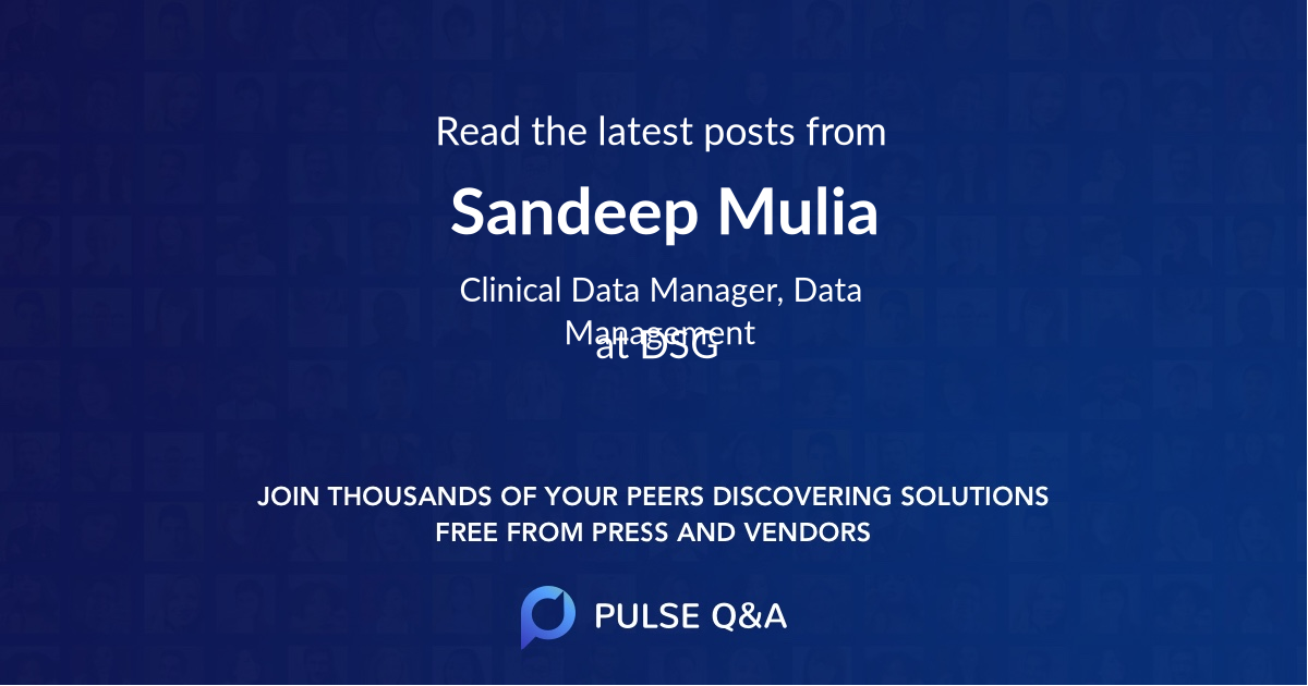 Sandeep Mulia