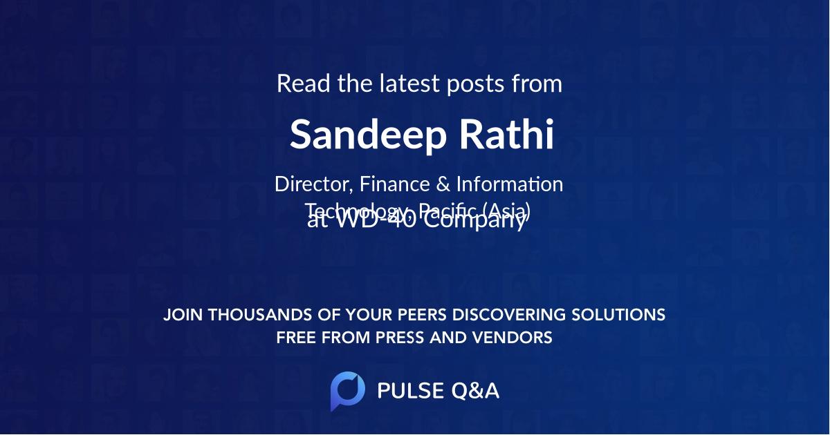 Sandeep Rathi