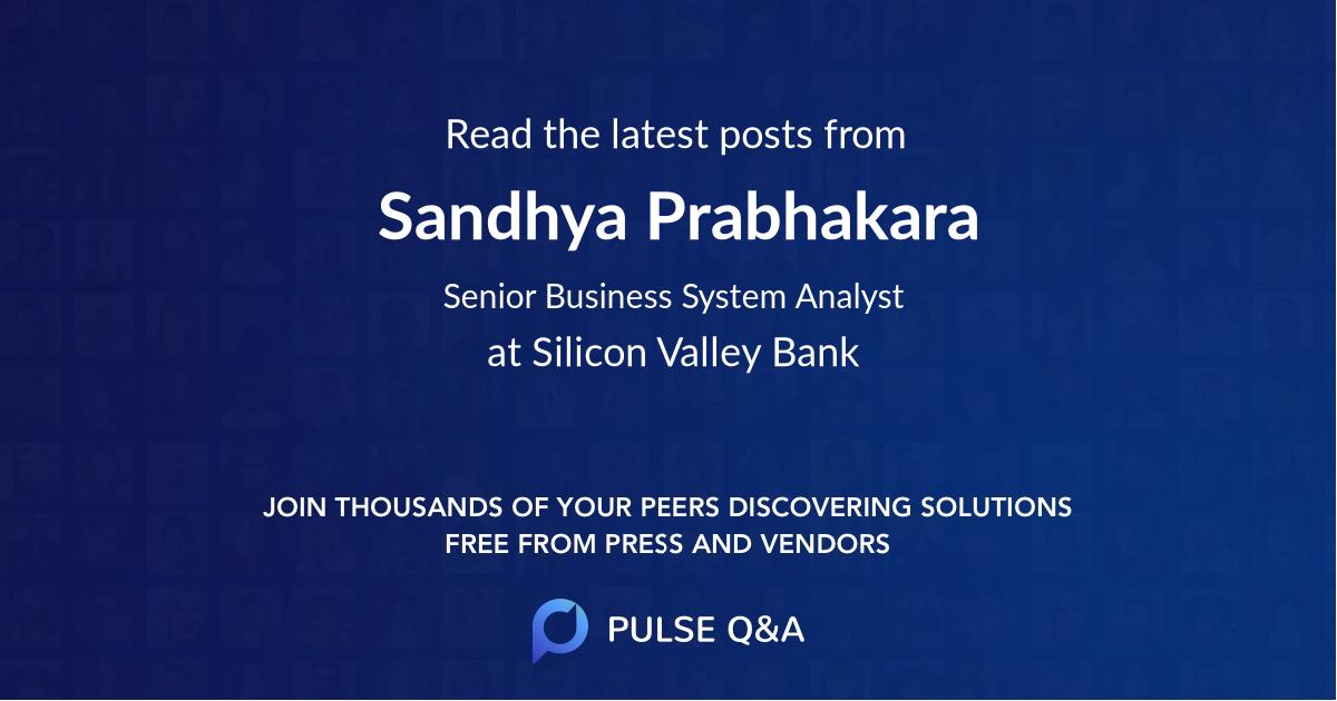 Sandhya Prabhakara