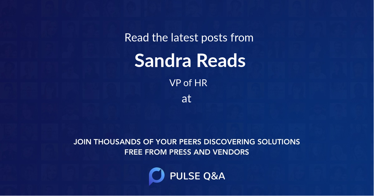 Sandra Reads