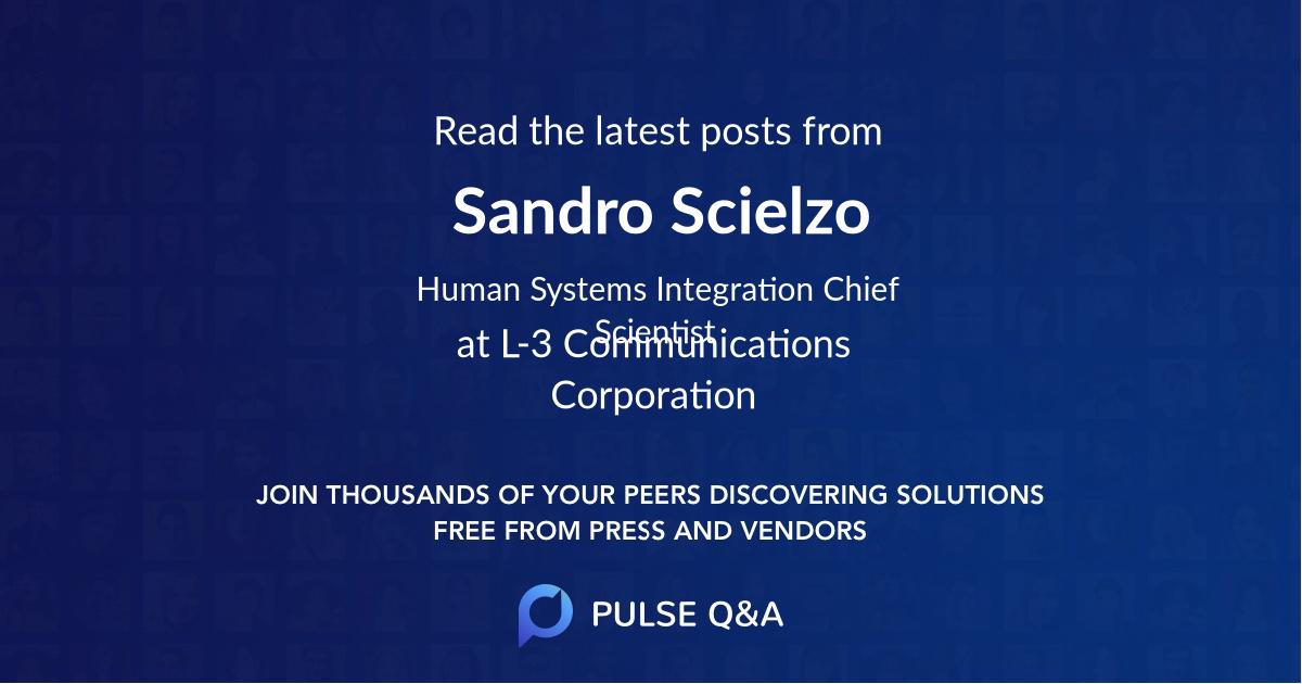 Sandro Scielzo
