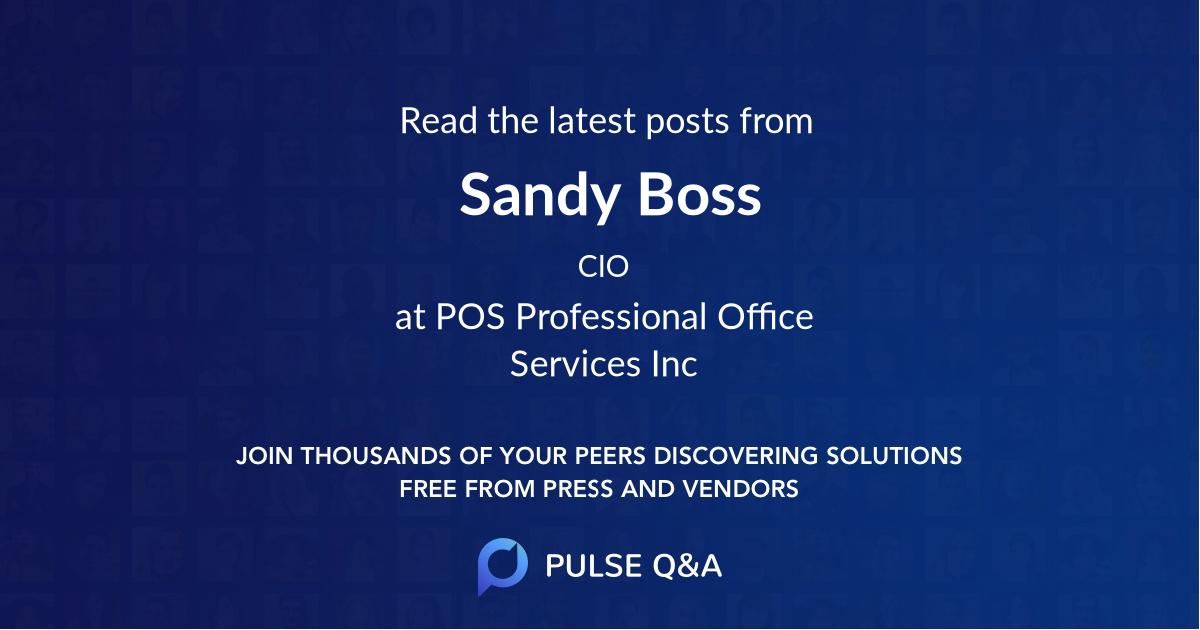 Sandy Boss