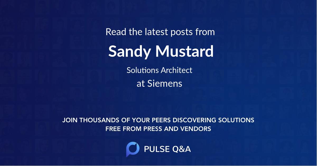 Sandy Mustard