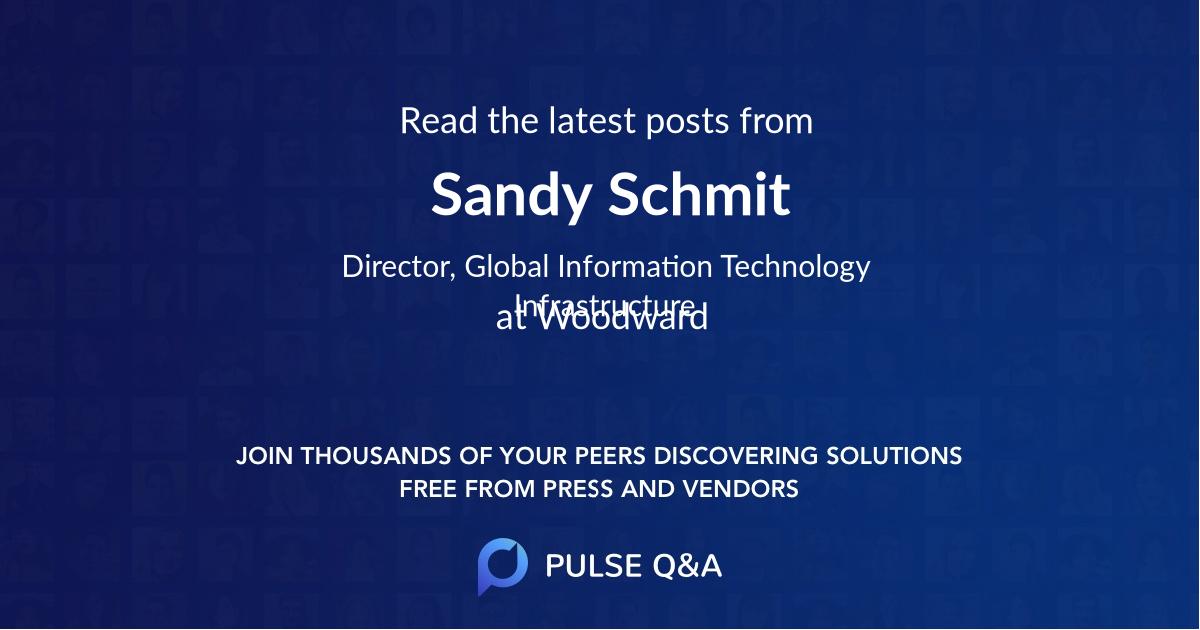 Sandy Schmit