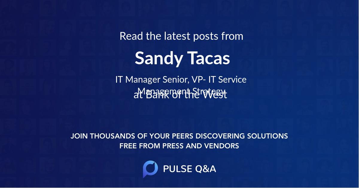 Sandy Tacas