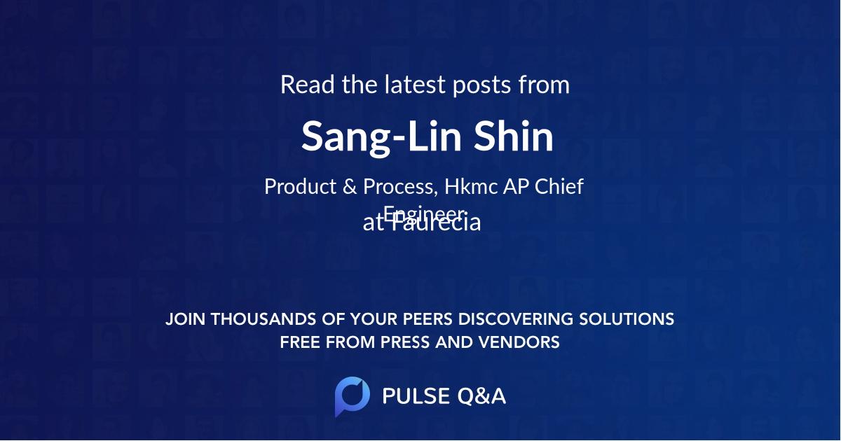 Sang-Lin Shin
