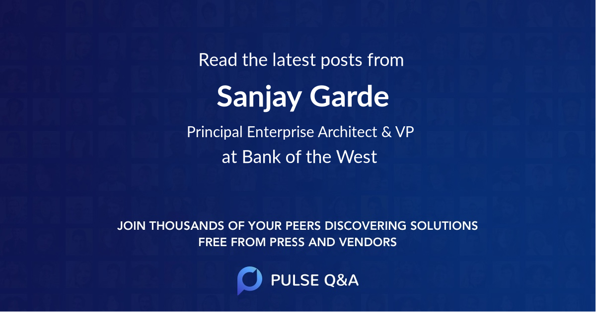 Sanjay Garde