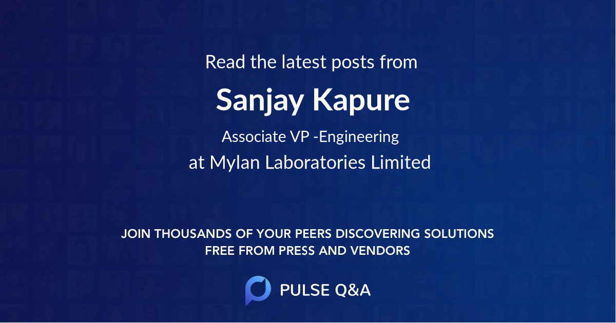 Sanjay Kapure