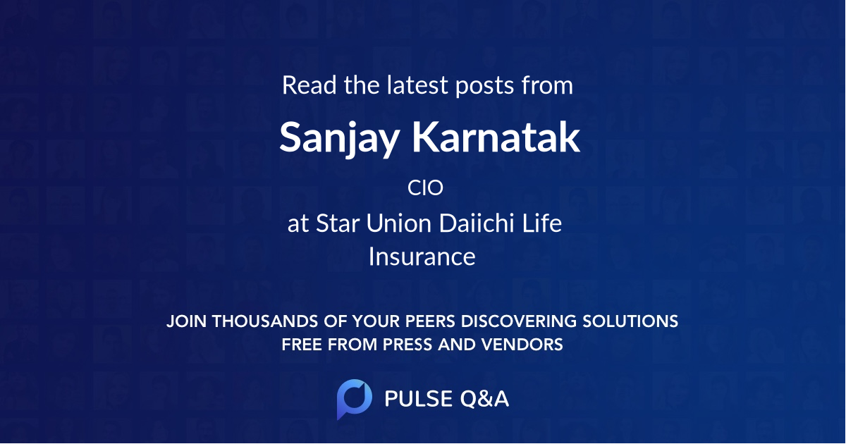 Sanjay Karnatak