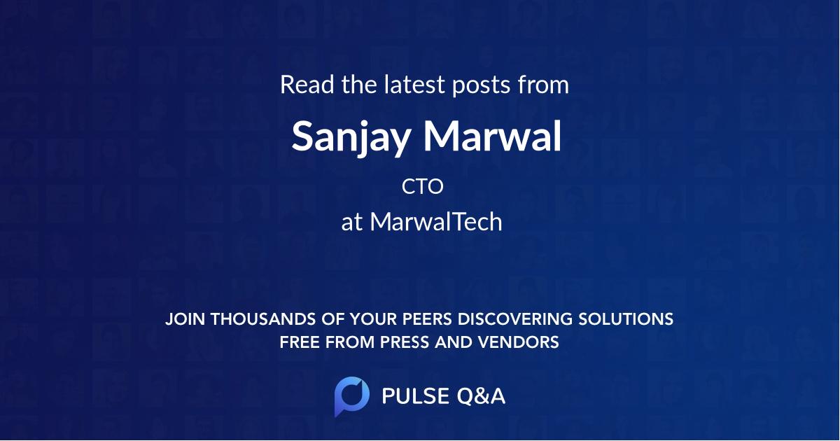 Sanjay Marwal