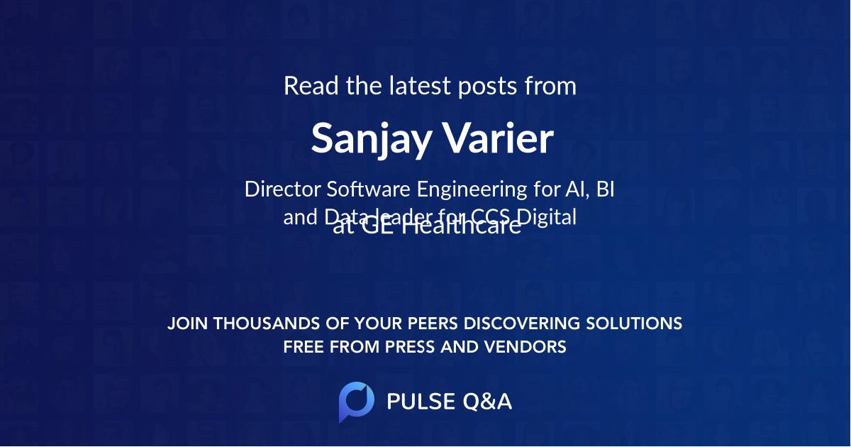 Sanjay Varier