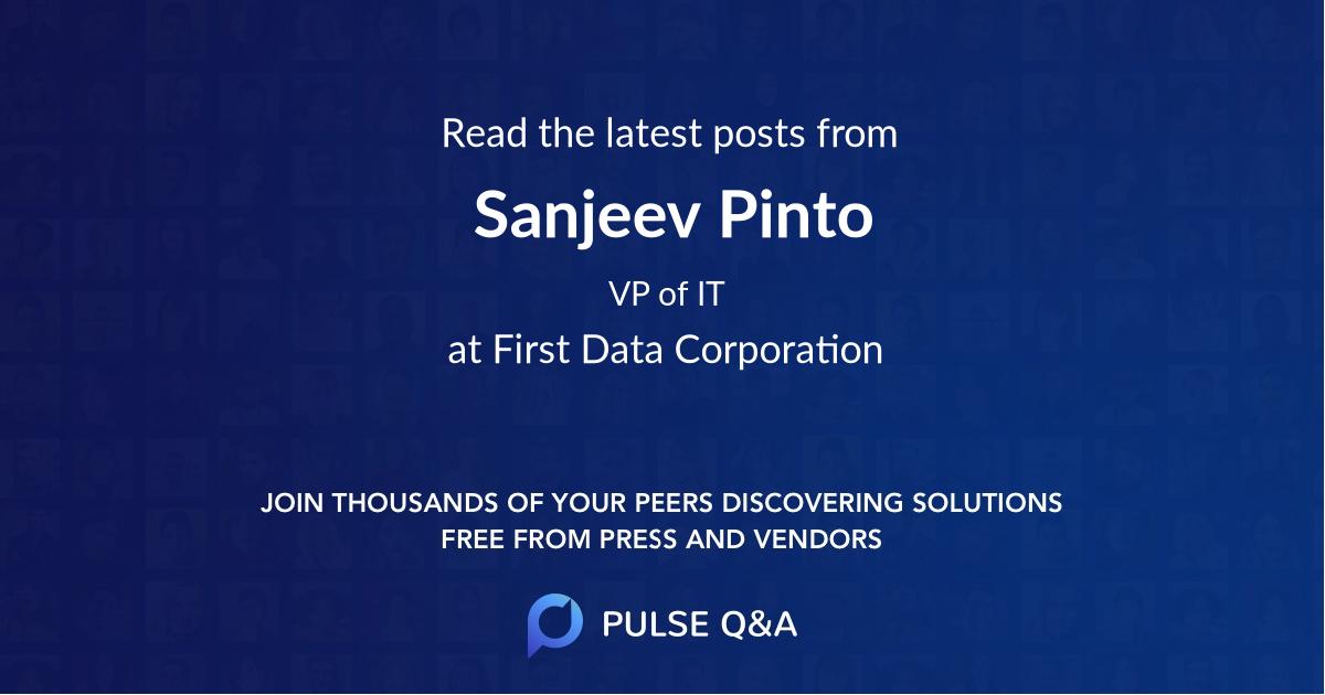 Sanjeev Pinto
