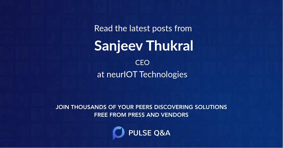 Sanjeev Thukral