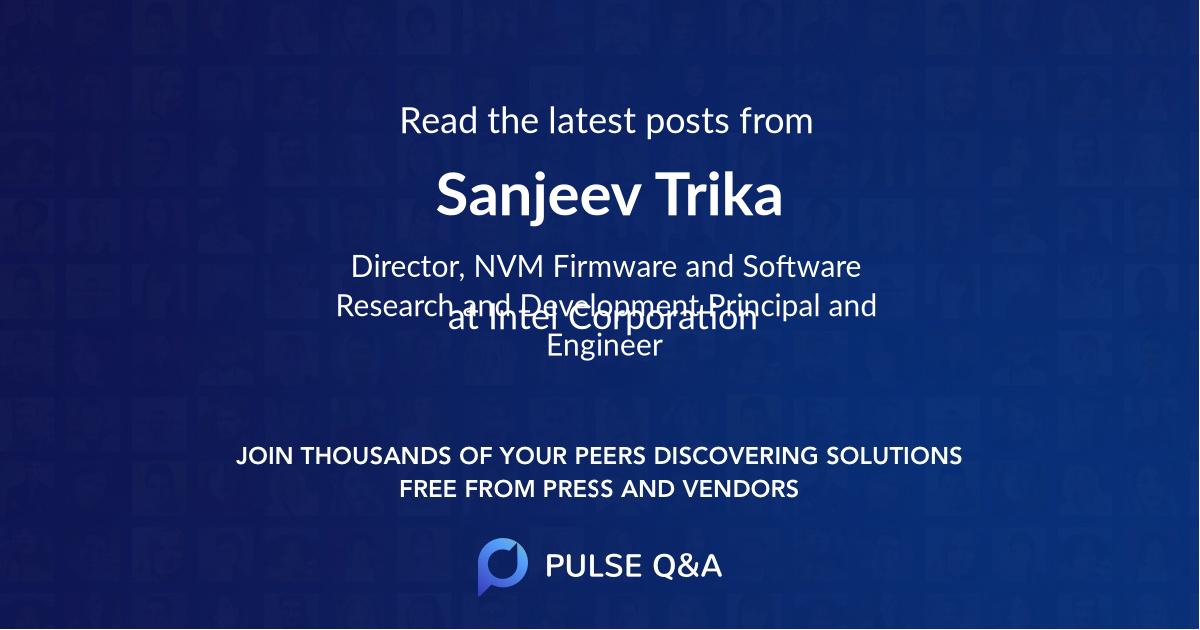 Sanjeev Trika