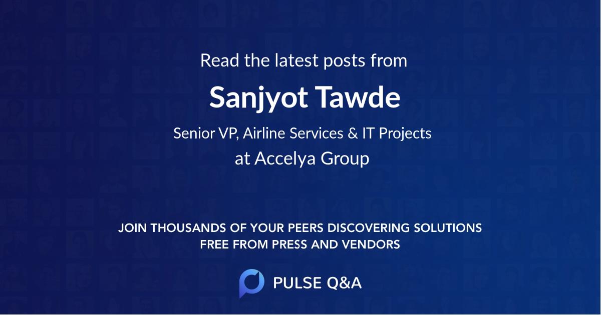 Sanjyot Tawde