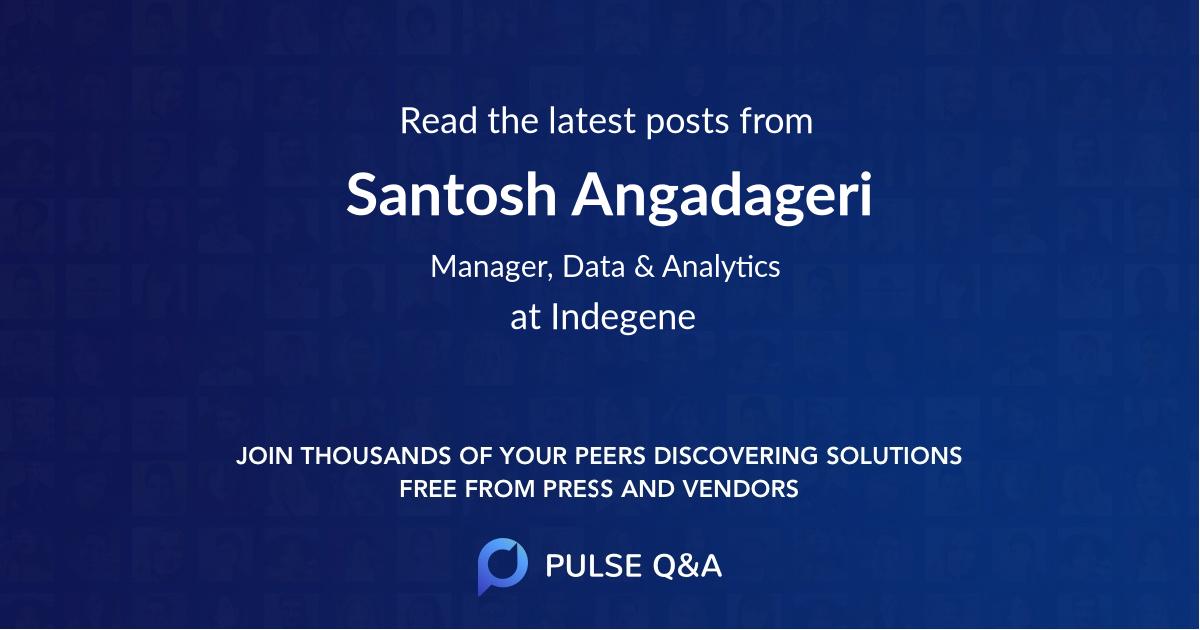Santosh Angadageri