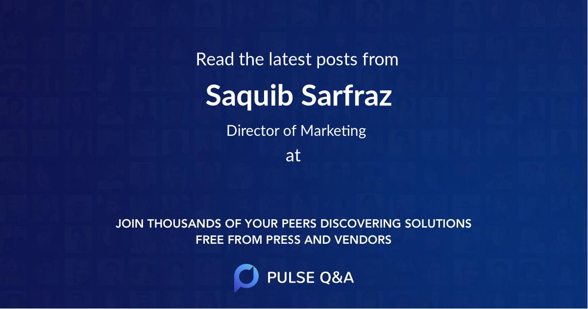 Saquib Sarfraz