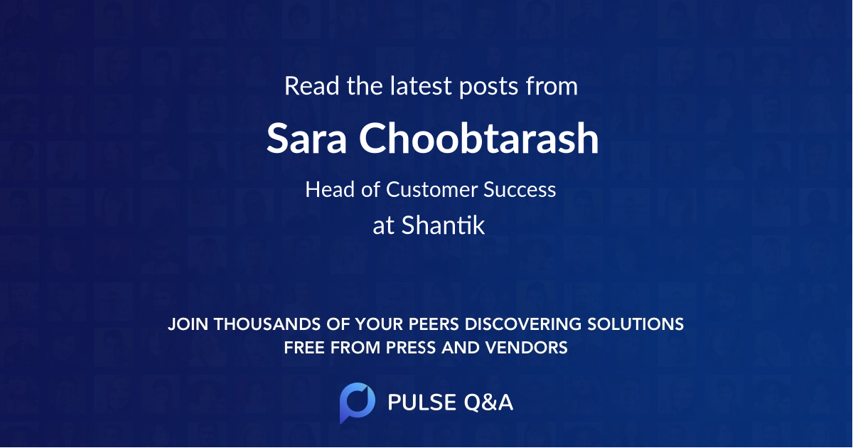 Sara Choobtarash