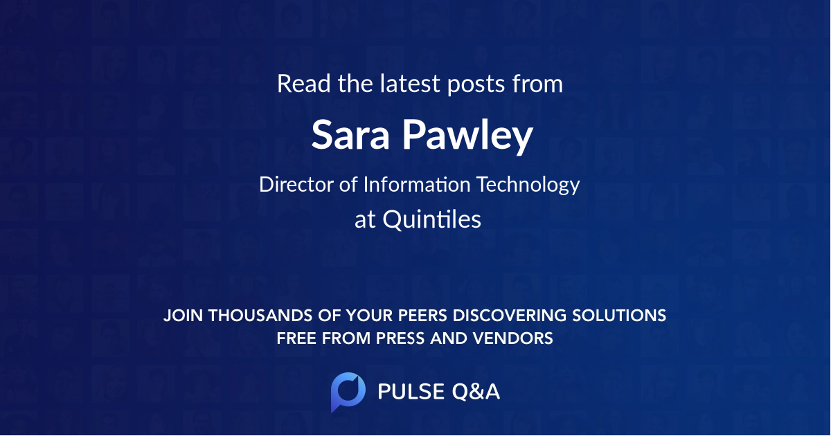 Sara Pawley