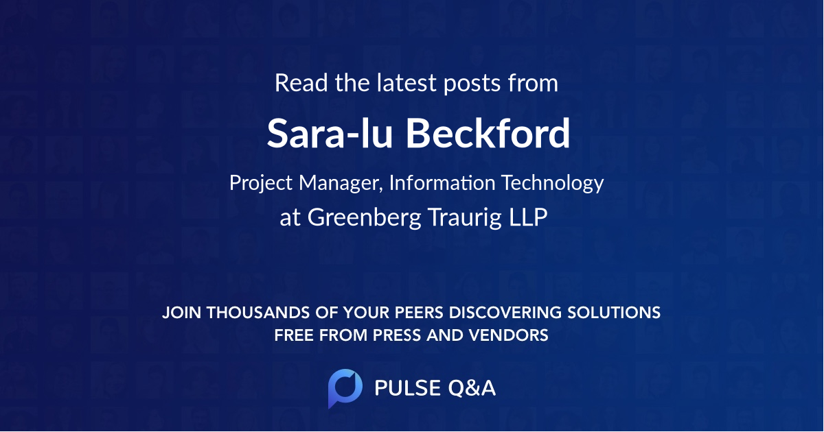 Sara-lu Beckford