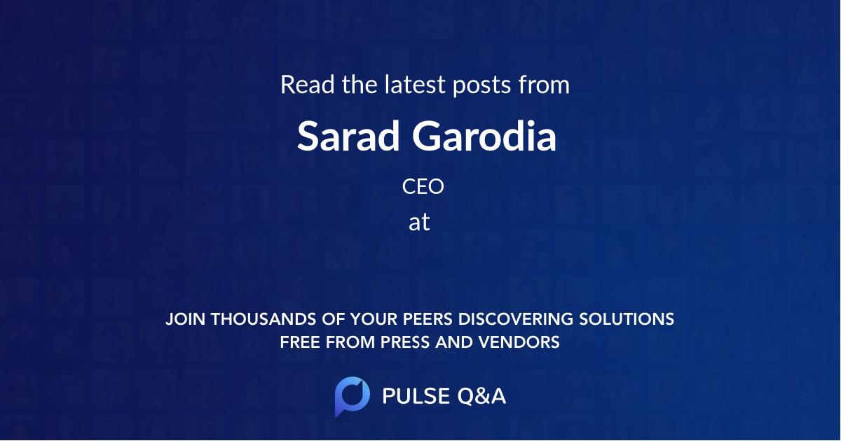 Sarad Garodia