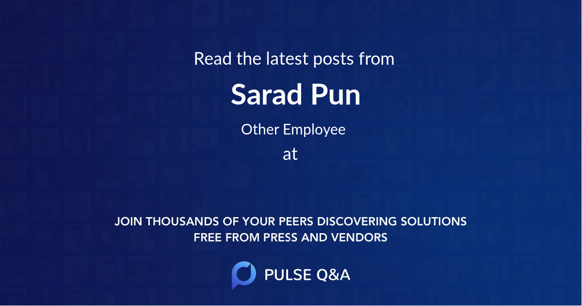 Sarad Pun